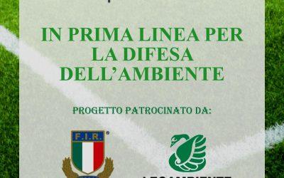 FEDERAZIONE ITALIANA RUGBY E LEGAMBIENTE CONCEDONO IL PROPRIO PATROCINIO A METICA