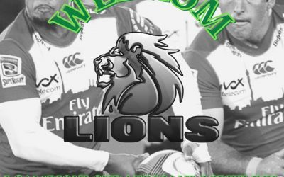 COLORNO OSPITA LA FRANCHIGIA SUDAFRICANA DEI LIONS